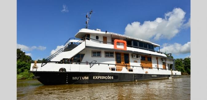Barco - Hotel Mutum Expedições - Fotos do Local