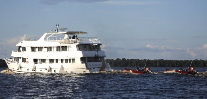 Ecofishing - Operação Amazônia - Fotos do Local