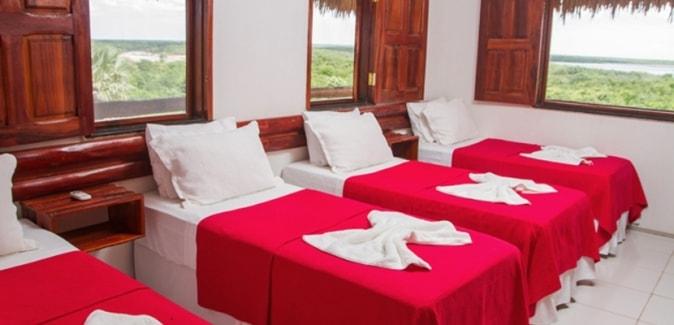 Aquafort Tour & Pesca Hotel - Quartos