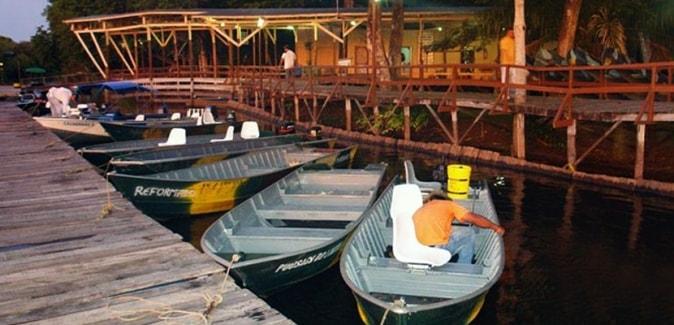 Passo do Lontra Parque Hotel - Barcos de Pesca
