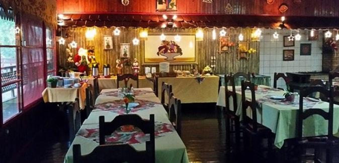 Passo do Lontra Parque Hotel - Restaurante