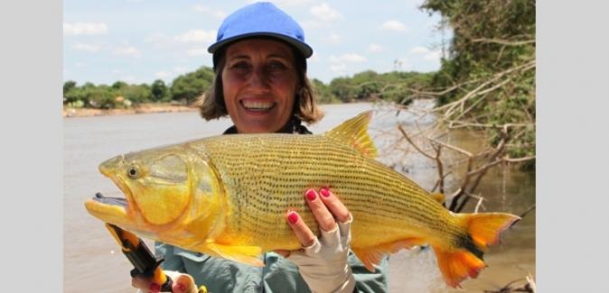 Barco - Hotel Mutum Expedições - Peixes do Local