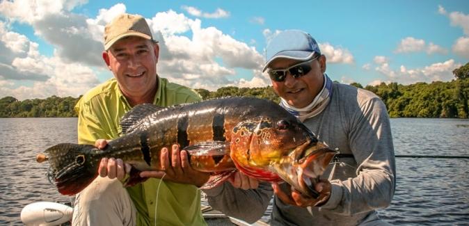 Ecofishing - Operação Amazônia - Peixes do Local