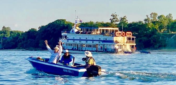 Barco - Hotel Pérola do Iguaçu - Peixes do Local