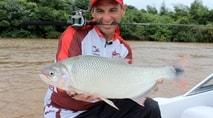 Pasión por la Pesca - Piapara, piraputanga e pacu com milho em Ituzaingó