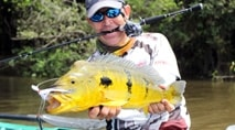 Momento da Pesca - Gigantes tucunarés na cheia do rio Teles Pires