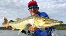 Momento da Pesca - Pescaria de tucunaré no rio Xingu
