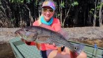 Elas na Pesca - Tucunarés no rio Itapará