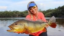 Elas na Pesca - Tucunarés no rio Itapará - Parte 3