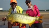 Elas na Pesca - Grandes dourados do rio Paraná