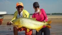 Elas na Pesca - Rio Paraná e seus dourados gigantes